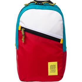 Topo Designs Light Mochila, rojo/azul